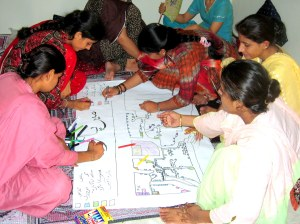 Community-based participatory research training workshop in Sindh, Pakistan. All rights reserved.