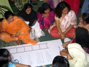 Community-Based Participatory Research Training Workshop in Sindh, Pakistan - June 2006.